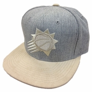 Phoenix Suns Heather Suede 2 Tone Snap-Grey