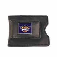 Phoenix Suns Leather Wallet Money Clip