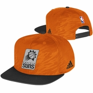 Phoenix Suns On Court Impact Camo Cap-Orange