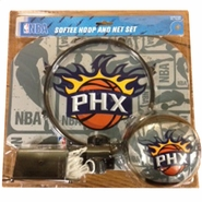Phoenix Suns Softee Team Logo Mini Hoop Set
