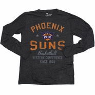 Phoenix Suns Sportiqe Long Sleeve Comfy Regatta Tee - Black