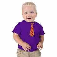 Phoenix Suns Toddler Boys Tie Tee-Purple