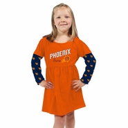 Phoenix Suns Toddler Cooldown Dress-Orange