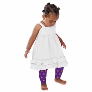 Phoenix Suns Toddler Repeat Logo Leggings-Purple