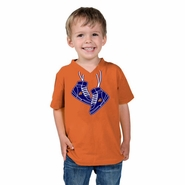 Phoenix Suns Toddler Sneaker V-Neck Tee-Orange