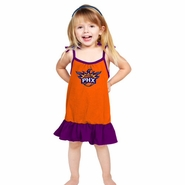 Phoenix Suns Toddler Strappy Dress-Orange