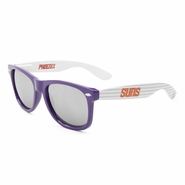 Phoenix Suns White Rising Sunglasses-Purple