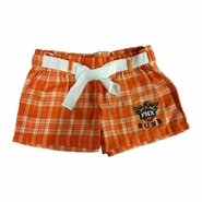 Phoenix Suns Women's Revelation Flannel Shorts - Orange