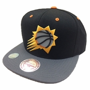 Phoenix Suns XL Reflective Snapback-Black/Orange