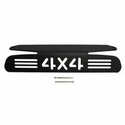 4X4 Design Third Brake Light Cover - Black Powdercoat (04-08 All) - AT Exterior 55012K