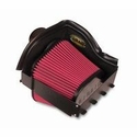Airaid SynthaMax Dry Filter QuickFit Air Dam - Red Filter (10-14 3.5L EcoBoost, 3.7L, 5.0L, 6.2L) - Airaid 401-239-1