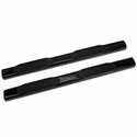Barricade 6 in. Oval Straight Side Bar - Gloss Black (09-14 F-150 SuperCab, SuperCrew) - Barricade T102844