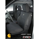 Carhartt Front Seat Covers - Gravel (09-10 All w/ Bucket Seats, w/Adjustable Headrests, w/ Seat Airbag) - Carhartt SSC2412CAGY