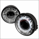 Clear Projector LED Fog Lights (06-08 All) - AT Lights LFP-F15006C-WJ