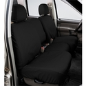 Covercraft Seat Saver - Charcoal (2007-2008 SuperCrew w/ 40/20/40 split-bench seat w/ adj. headrests w/ folding console) - Covercraft SS3385PCCH