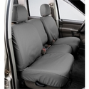 Covercraft Seat Saver - Grey (2007-2008 SuperCrew w/ 40/20/40 split-bench seat w/ adj. headrests w/ folding console) - Covercraft SS3385PCGY