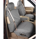 Covercraft Seat Saver - Grey - Waterproof (2004-2008 Standard Cab, SuperCab w/ buckets w/ adj. headrests w/ shoulder belt in seat back) - Covercraft SS2354WFGY