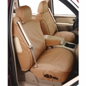Covercraft Seat Saver - Tan (2007-2008 SuperCrew w/ buckets w/ adj. headrests) - Covercraft SS2384PCTN