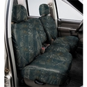 Covercraft Seat Saver - True Timber Camo (2007-2008 Standard Cab, SuperCab w/ 40/20/40 split-bench seat w/ folding console w/ adj. headrests w/ shoulder belt in seat back) - Covercraft SS3359TTXD