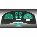 Daytona Edition Gauge Face Kit - Green (04-08 FX4) - AT Interior FX40411||FX40711