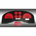 Daytona Edition Gauge Face Kit - Red (04-08 FX4) - AT Interior FX4045||FX4075