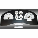 Daytona Edition Gauge Face Kit - White (04-08 FX4) - AT Interior FX4040||FX4070