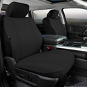 Fia Poly-Cotton Front Bucket Seat Cover - Black (11-14) - Fia SP87-26 BLACK