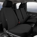 Fia Poly-Cotton Front Seat 40/20/40 Seat Cover - Black (11-14) - Fia SP87-33 BLACK