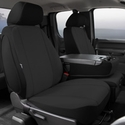 Fia Poly-Cotton Front Seat 40/20/40 Seat Cover - Black (11-14) - Fia SP87-30 BLACK