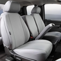 Fia Poly-Cotton Front Seat 40/20/40 Seat Cover - Gray (11-14) - Fia SP87-33 GRAY