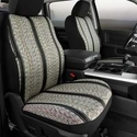 Fia Saddle Blanket Front Bucket Seat Cover - Black (11-14) - Fia TR47-26 BLACK