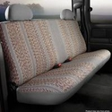 Fia Saddle Blanket Rear 60/40 Seat Cover - Gray (11-14 All) - Fia TR42-33 GRAY  TR42-30 GRAY  TR42-36 GRAY  TR42-35 GRAY