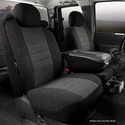 Fia Tweed Front 40/20/40 Seat Cover - Charcoal (04-08 All) - Fia OE37-17 CHARC  OE37-20 CHARC