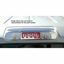 Flames Design Third Brake Light Cover - Polished (04-08 All) - AT Exterior 55015P