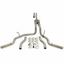 Flowmaster American Thunder Stainless Steel Dual Exit Catback Exhaust (04-08 4.6L, 5.4L) - Flowmaster 817417