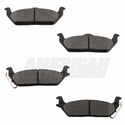 Hawk Performance LTS Brake Pads - Rear (04-11) - Hawk Performance HB456Y.705