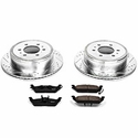 Power Stop 1-Click Extreme Truck & Tow Rear Brake Kit (04-11 2WD, 6-Lug) - Power Stop K1950-36