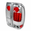 Chrome Alteeza Style LED Tail Lights (97-03 All) - AT Lights LT-F15097CLED-TM