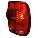 Red LED Tail Lights (97-03 All) - AT Lights LT-F15097RLED-RS