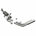 Magnaflow Dual Same Side Exit Behind Passenger Rear Tire Catback Exhaust (09-10 4.6L, 5.4L Regular Cab 6.5' Bed) - Magnaflow 16736