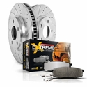 Power Stop 1-Click Extreme Truck & Tow Front Brake Kit (97-04 4WD, 5-Lug) - Power Stop K1866-36