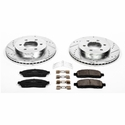 Power Stop 1-Click Front Brake Kit (04-08 4WD, 6-Lug, 7-Lug) - Power Stop K1943||K1946
