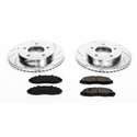 Power Stop 1-Click Front Brake Kit (97-04 4WD, 5-Lug) - Power Stop K1866