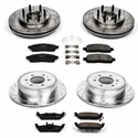 Power Stop 1-Click Front & Rear Brake Kit (04-08 2WD, 6-Lug) - Power Stop K1940