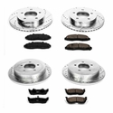 Power Stop 1-Click Front & Rear Brake Kit (Early 00 4WD 5-Lug) - Power Stop K1867
