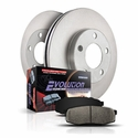 Power Stop 1-Click OE Replacement Front Brake Kit (00-04 2WD 5-Lug & 7-Lug, 4WD 7-Lug) - Power Stop KOE1914||KOE5138||KOE5139