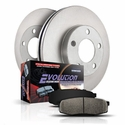 Power Stop 1-Click OE Replacement Front Brake Kit (04-08 4WD, 6-Lug, 7-Lug) - Power Stop KOE1943||KOE1946