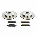 Power Stop 1-Click OE Replacement Front Brake Kit (97-04 4WD, 5-Lug) - Power Stop KOE1866