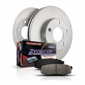 Power Stop 1-Click OE Replacement Front & Rear Brake Kit (99-04 4WD, 5-Lug) - Power Stop KOE1868