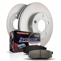 Power Stop 1-Click OE Replacement Front & Rear Brake Kit (Early 00 4WD, 5-Lug) - Power Stop KOE1867